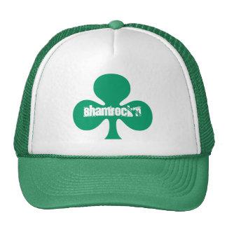 Gorras verdes de Shamrock'n del trébol del día de
