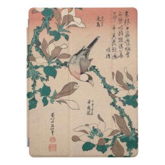 Gorrión de Hokusai Java en el arte de GalleryHD de Cubierta Para iPad Pro