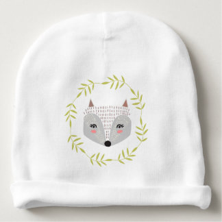 Gorrita tejida astuta del algodón del bebé de la gorrito para bebe