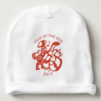 Gorrita tejida china 2018 del bebé del Año Nuevo Gorrito Para Bebe