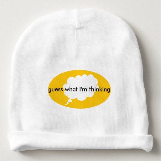 Gorrita tejida cómoda del bebé gorrito para bebe