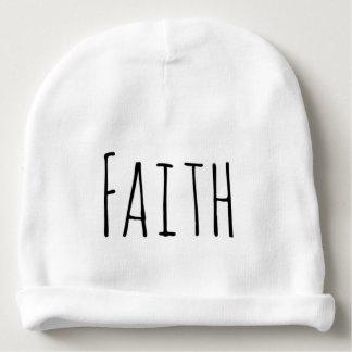 Gorrita tejida cristiana del bebé de la fe gorrito para bebe