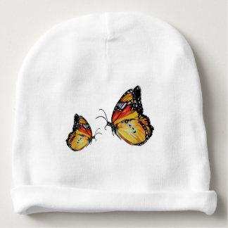 Gorrita tejida de encargo del algodón del bebé de gorrito para bebe