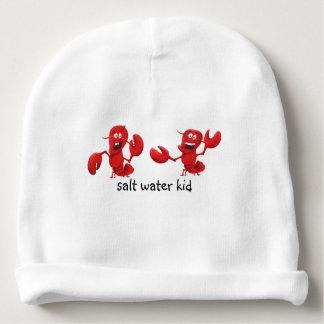 Gorrita tejida de encargo del algodón del bebé gorrito para bebe