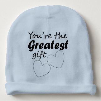 Gorrita tejida de encargo del algodón del bebé - gorrito para bebe