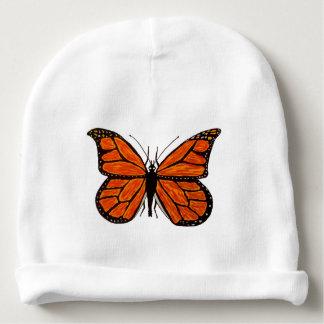 Gorrita tejida de encargo del bebé del algodón con gorrito para bebe