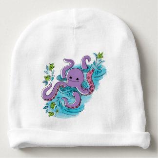 Gorrita tejida del algodón del bebé del gorrito para bebe