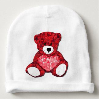 Gorrita tejida del algodón del bebé del oso de gorrito para bebe