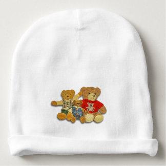 Gorrita tejida del bebé de la familia del oso de gorrito para bebe