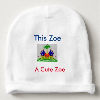 Gorrita tejida del bebé de Zoe Gorrito Para Bebe