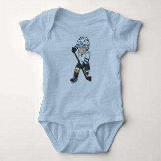 Gorrita tejida del bebé del hockey body para bebé