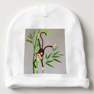 Gorrita tejida del bebé del mono del zodiaco gorrito para bebe