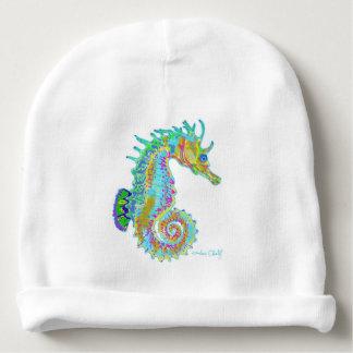 Gorrita tejida del bebé del Seahorse Gorrito Para Bebe