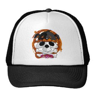 Gorrita tejida del cráneo de KGurl Rotty Gorras