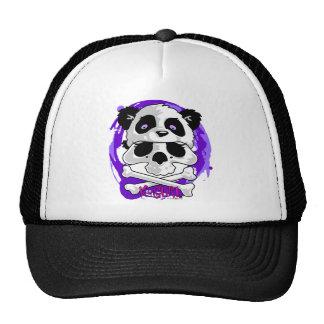 Gorrita tejida del cráneo de la panda de KGurl Gorras De Camionero