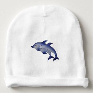 Gorrita tejida del delfín gorrito para bebe