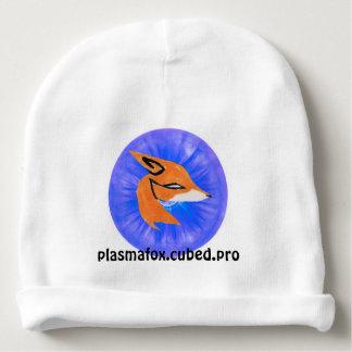 Gorrita tejida del emblema de PlasmaFox Gorrito Para Bebe