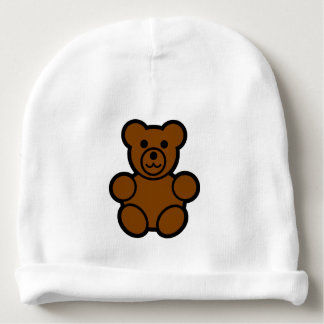 Gorrita tejida del oso de peluche gorrito para bebe