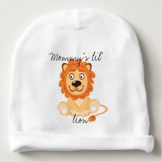 Gorrita tejida del personalizado del león de Lil Gorrito Para Bebe