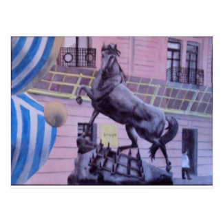 Gorrita tejida en el Musee d'Orsay Postal