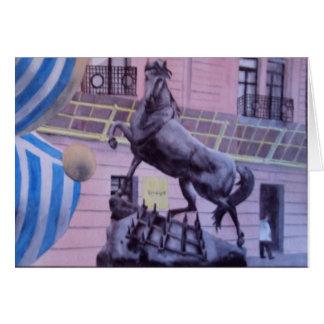 Gorrita tejida en el Musee d'Orsay Tarjeta De Felicitación
