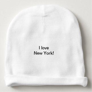 Gorrito Para Bebe Amo el gorra de la gorrita tejida de Nueva York