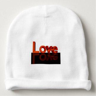 Gorrito Para Bebe Amor, gorrita tejida de encargo del algodón del