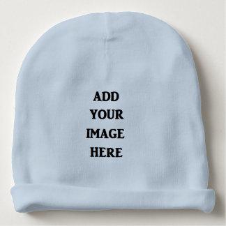 Gorrito Para Bebe Añada su gorrita tejida del bebé azul de la imagen