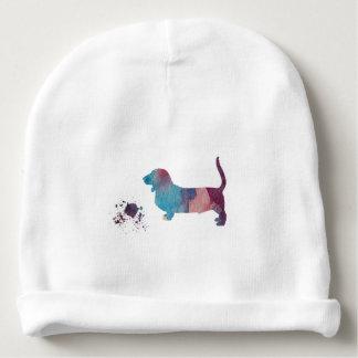 Gorrito Para Bebe Arte del perro de afloramiento
