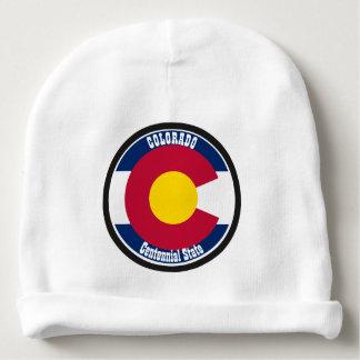 Gorrito Para Bebe Bandera de la circular de Colorado