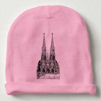 Gorrito Para Bebe Basilica of Lujan (Pencil design)