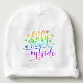 Gorrito Para Bebe Bebé colorido es gorrita tejida fría del algodón