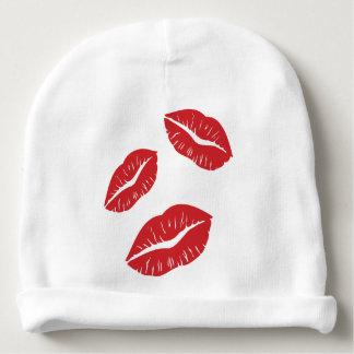 Gorrito Para Bebe Besos rojos del beso de la pasión del amor del