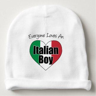 Gorrito Para Bebe Cada uno ama un gorra italiano del bebé del