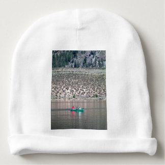 Gorrito Para Bebe Canoe el río de Similkameen adentro A.C., Canadá