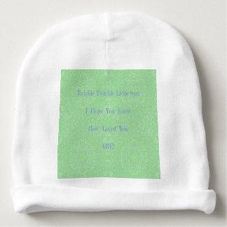 Gorrito Para Bebe Centelleo del centelleo pocos regalos del bebé de