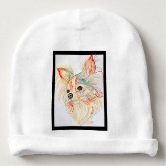Gorrito Para Bebe Chihuahua del arte pop por el villancico Zeock
