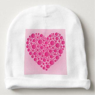 Gorrito Para Bebe Ciervo rosado de la burbuja