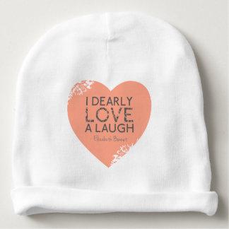 Gorrito Para Bebe Cita del perjuicio del amor y del orgullo de