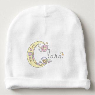Gorrito Para Bebe Clara o su propia gorrita tejida conocida de la