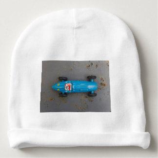 Gorrito Para Bebe Coche azul del juguete