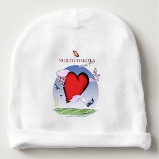 Gorrito Para Bebe corazón principal de Dakota del Norte, fernandes