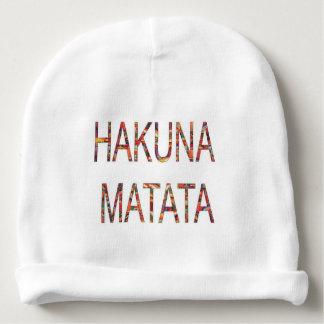 Gorrito Para Bebe Cree su propio Hakuna Matata ningún problema