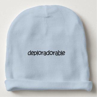 Gorrito Para Bebe Deplorable + ¿Adorable? ¡Deploradorable! Gorra de