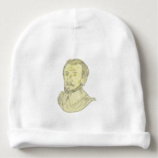 Gorrito Para Bebe Dibujo español del siglo XV del busto del