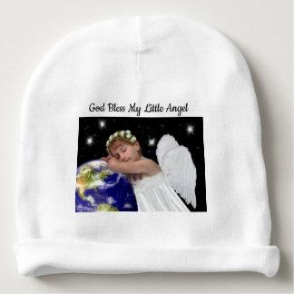 Gorrito Para Bebe Dios bendice mi pequeño gorra del ángel