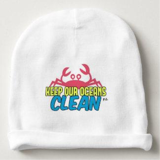 Gorrito Para Bebe El ambiente guarda nuestro lema limpio de los
