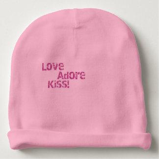 Gorrito Para Bebe el amor adora beso