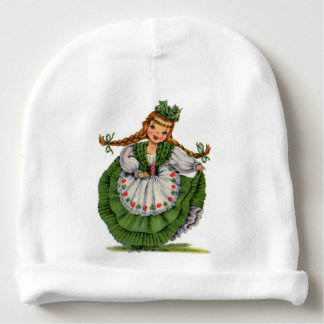 Gorrito Para Bebe El bailarín irlandés retro de la muñeca con las