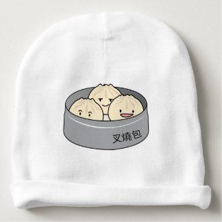 Gorrito Para Bebe El desayuno chino del dim sum del bollo del cerdo